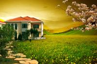 Korea beautiful villas PSD templates