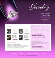 Purple jewelry template