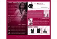 Female clothing sales templates